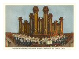 Tabernacle Organ and Choir, Salt Lake City, Utah Prints