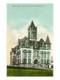 Pierce County Courthouse, Tacoma, Washington Prints