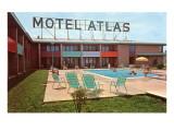 Motel Atlas, Vintage Motel Prints
