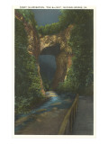 The Sixth Day, Natural Bridge, Virginia Kunstdrucke