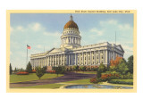 Capitol, Salt Lake City, Utah Posters