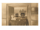 Alcove Bed, Monticello, Charlottesville, Virginia Prints