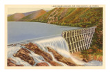 Lake Hodges and Dam, San Diego County, California Posters