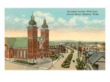 Riverside Avenue, Spokane, Washington Posters