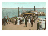 Steamboat Landing, Rocky Point, Rhode Island Print