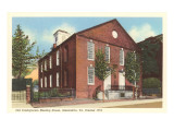 Presbyterian Meeting House, Alexandria, Virginia Prints