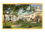 Courthouse, Santa Barbara, California Prints