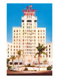 El Cortez Hotel, San Diego, California Art