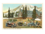 Paradise Inn, Rainier National Park, Washington Posters