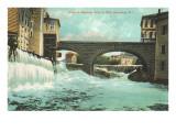 Pawtucket Falls, Pawtucket, Rhode Island Prints