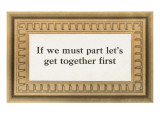 Let's Get Together Print