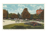 Monroe Park, Richmond, Virginia Prints