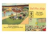Del Pico Lodge Motel Art