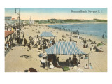Beach at Newport, Rhode Island Posters