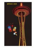 Space Needle, Seattle, Washington Poster