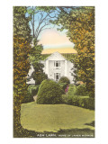 Ash Lawn, Monroe Home, Charlottesville, Virginia Prints