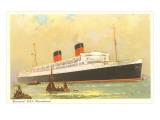 Cunard Mauretania, Ocean Liner Prints