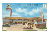 Navajo Lodge Motel, San Diego, California Posters