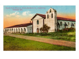 Santa Ynes Mission, Santa Barbara, California Prints