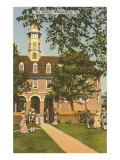 Old Capitol, Williamsburg, Virginia Prints