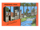 Greetings from Florence, South Carolina Prints