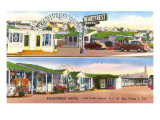 Beautyrest Motel, San Diego, California Prints
