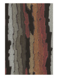 Bark Texture in Various Colors, Abstract Pattern Prints