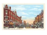 Mahoning Street, Punxutawney, Pennsylvania Prints