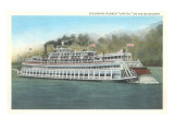 Mississippi Riverboat Capitol Posters