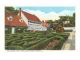 Gardens, Mt. Vernon, Virginia Print