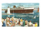 Ship Passing Buoys Prints