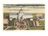 Hôtel Ocean Forest, Myrtle Beach, Caroline du Sud Poster