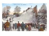 Ski Jumping Art