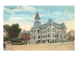 City Hall, Newport, Rhode Island Prints