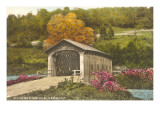 Covered Bridge, Vermont Posters