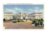 Palace of the Legion of Honor, San Francisco, California Prints