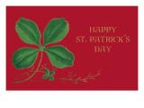 Happy St. Patrick's Day, Shamrock Prints