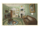 West Parlor, Mt. Vernon, Virginia Poster