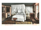 Washington's Bedroom, Mt. Vernon, Virginia Prints