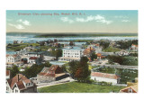 View over Watch Hill, Rhode Island Prints