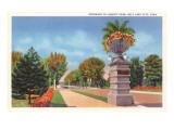 Liberty Park,  Salt Lake City, Utah Poster