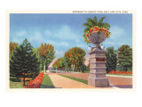 Liberty Park, Salt Lake City, Utah Print