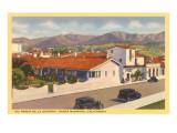 Paseo de la Guerra, Santa Barbara, California Prints