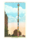 Totem Pole, Tacoma, Washington Prints