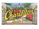 Charleston, South Carolina Greets You Posters