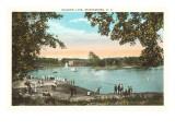 Rainbow-See, Spartanburg, South Carolina Kunstdrucke