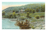 Country Club, Lake Bomoseen, Vermont Print