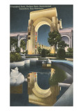 Triumphal Arch, World's Fair, San Francisco, California Prints