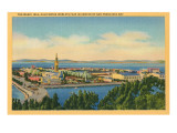 San Francisco World's Fair, Magic Isle Print