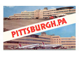 Airport Views, Pittsburgh, Pennsylvania Posters